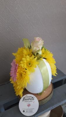 Livraison bouquet de fleurs Quincy-Basse fleuriste créateur Danser fleurette