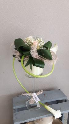 Livraison bouquets de fleur Quincy-Basse artisan fleuriste Danser fleurette