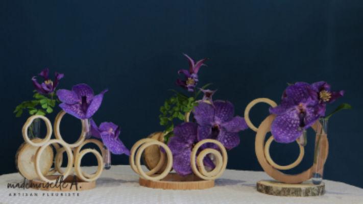 Envoi bouquet de fleurs La Garde-Freinet fleuriste créateur Mademoiselle A.