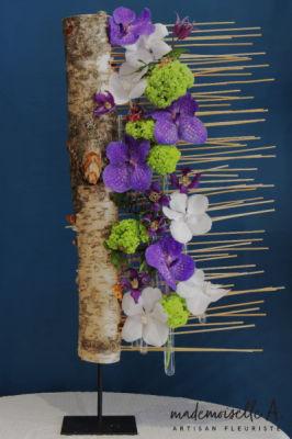 Envoi bouquets fleur La Garde-Freinet fleuriste créateur Mademoiselle A.