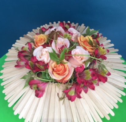 Livraison bouquets fleur La Garde-Freinet fleuriste créateur Mademoiselle A.