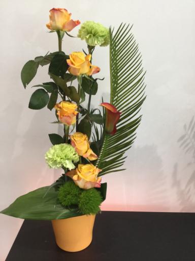 Commander bouquet sur mesure Miserieux fleuriste Ain Fleurs et Sens