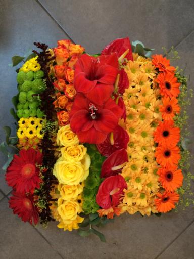 Commande bouquets fleur Caluire-Et-Cuire artisan fleuriste Ain Fleurs et Sens