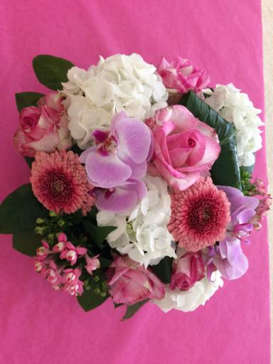 Envoi de fleur bouquet Ranville-Breuillaud fleuriste créateur Ambiance & Passion