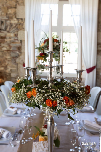 Livraison de composition florale Saint-Perreux fleuriste créateur Little Garden