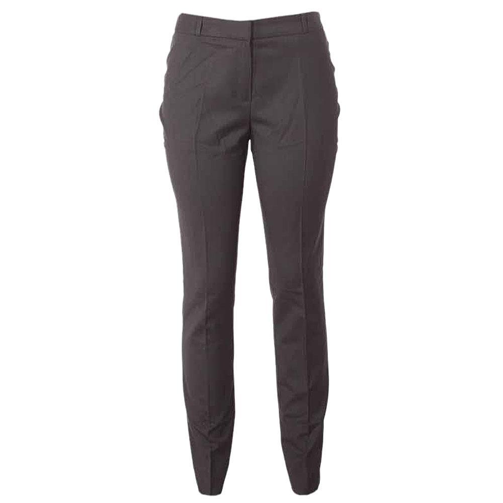 M&S Ankle Grazer Black Ladies Trouser Uk 16