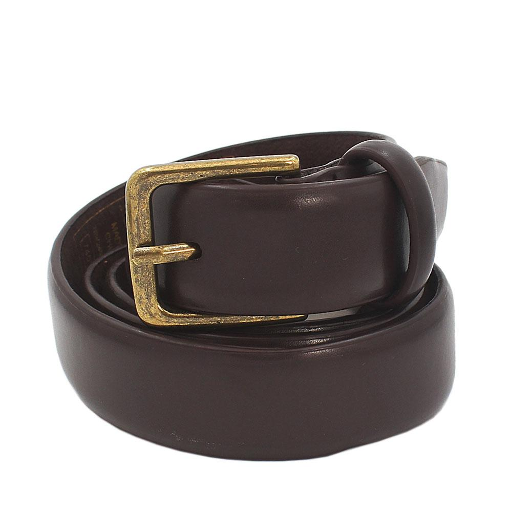 Mark & Spencer Brown Leather Mens Belt - Length 36 inches