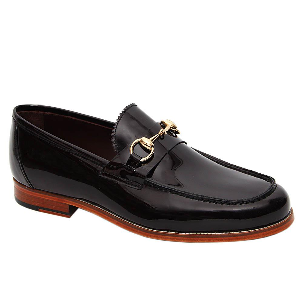 Coffee-Leno-Patent-Italian-Leather-Penny-Loafers