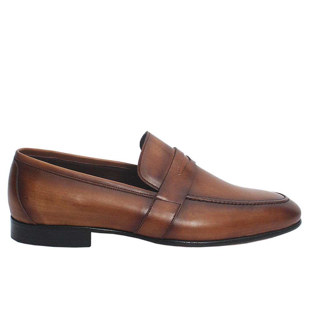 Brown-Sahra-Italian-Leather-Loafers