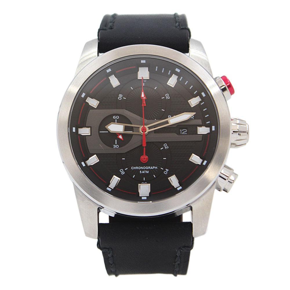 Big Bang Black Leather NavigatorChronograph Watch