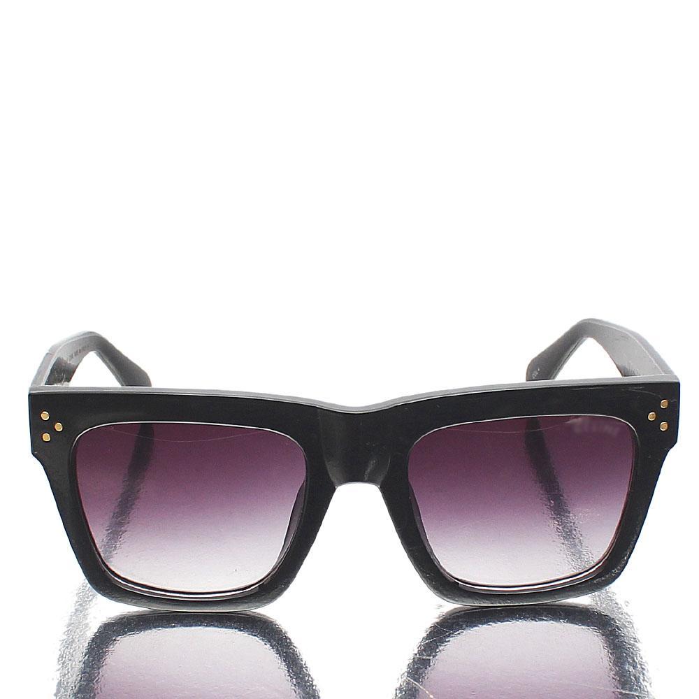 Black Oversized Wayfarer Sunglasses