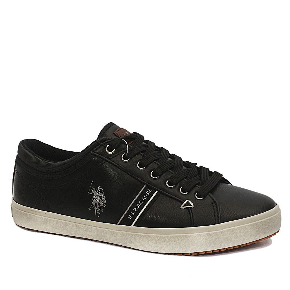 Black Wey Leather Sneakers