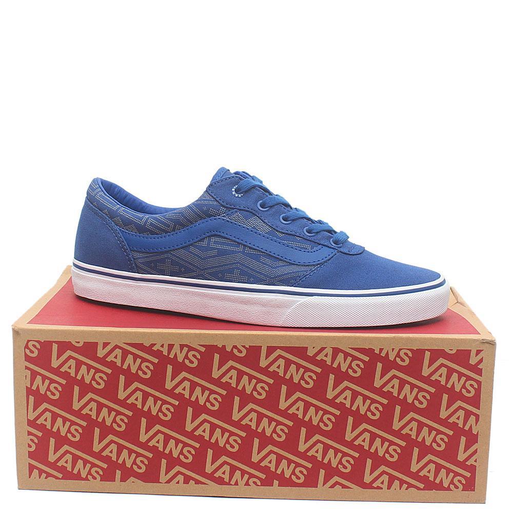 Vans Blue White Sneakers Sz 42.5