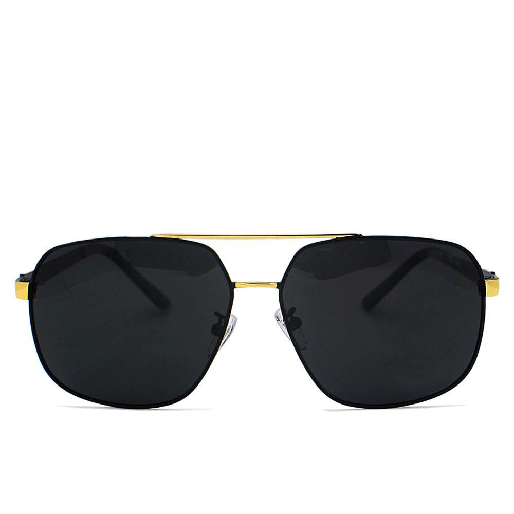 Black Square FAviator Polarized Sunglasses