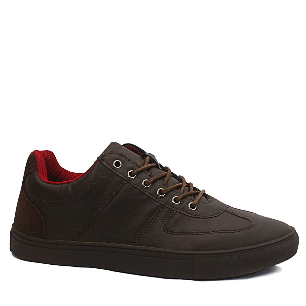 Sz 43 DDM Brown Billy Leather Sneakers