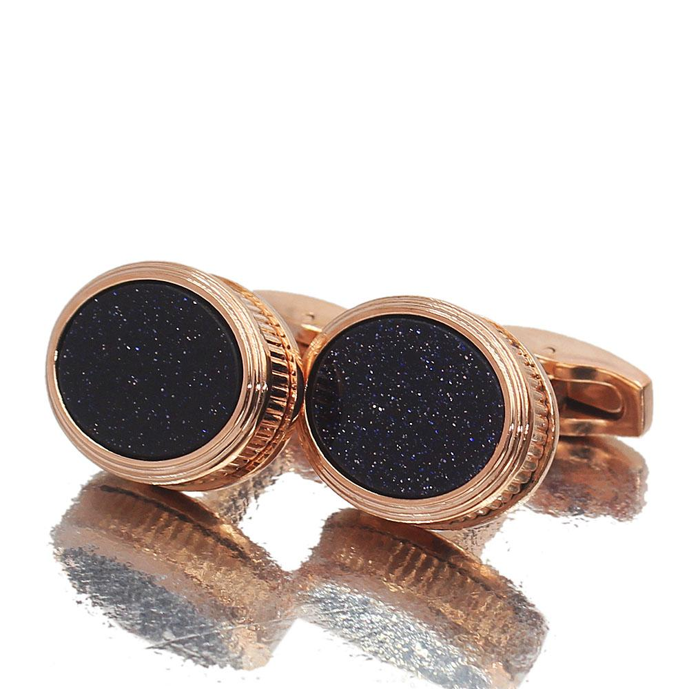 Glitz-Ceramic-Rose-Gold-Stainless-Steel-Cufflinks