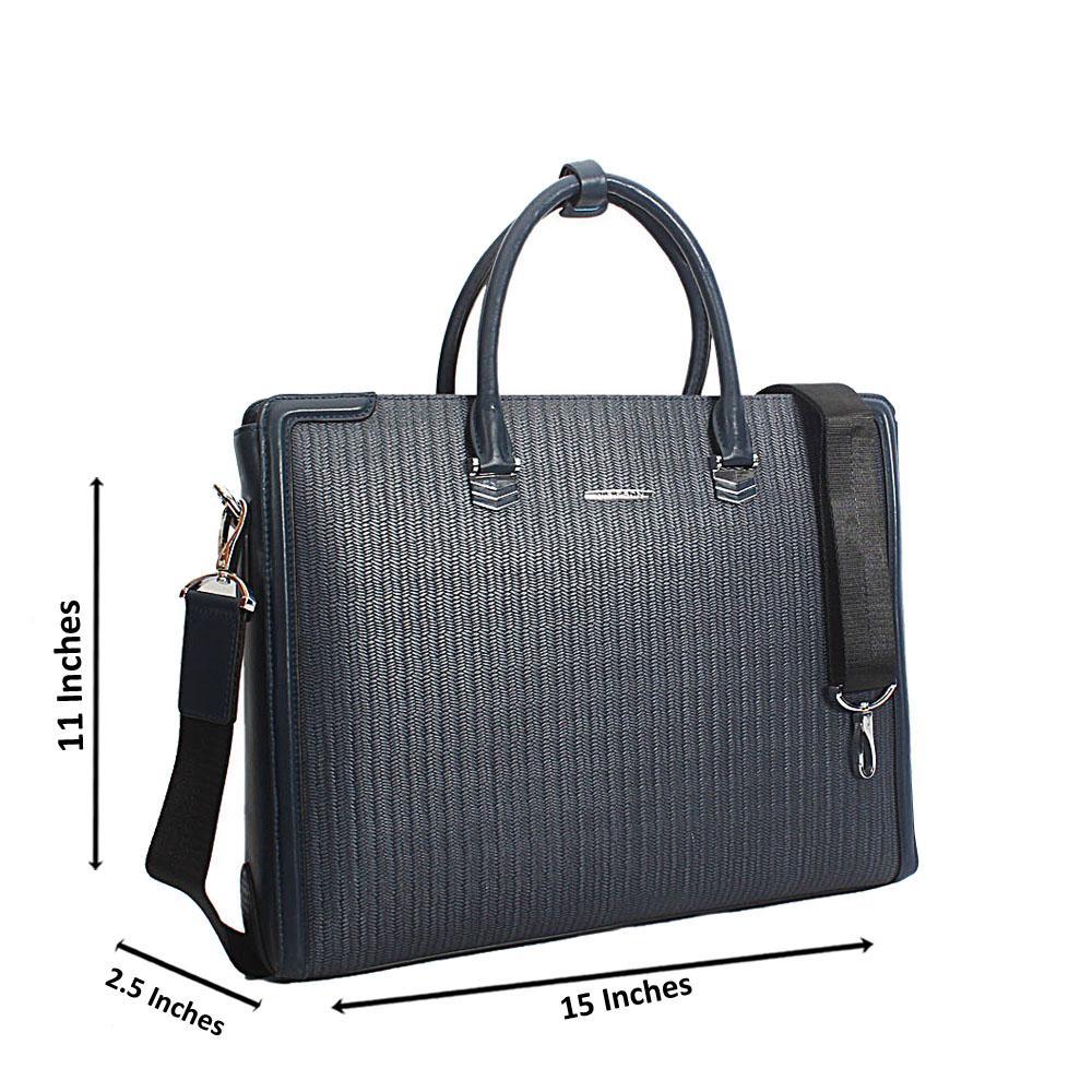 Navy-Grain-Marcelo-Leather-Briefcase