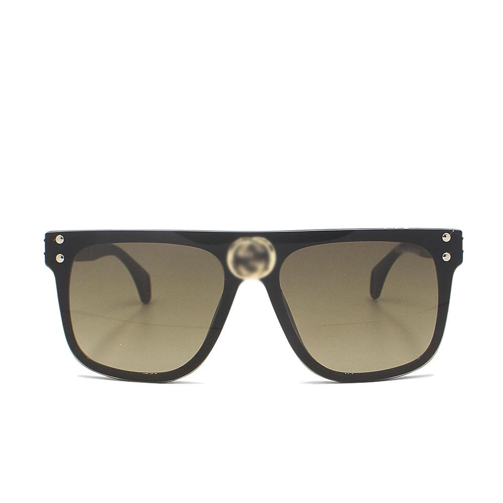 Gray Over Size Shield Wide Fit Sunglasses