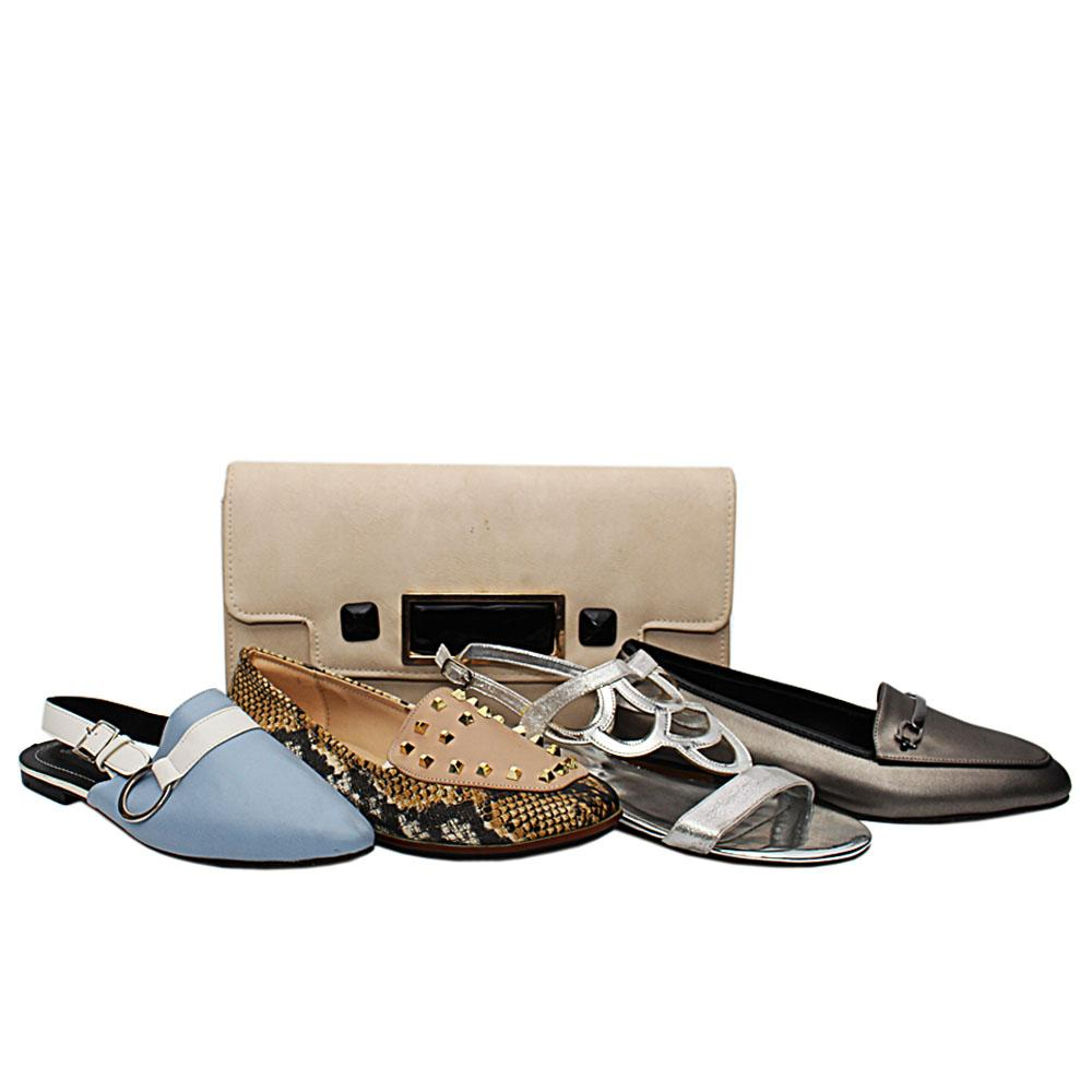 Size 37 Luna Shoe and Bag Bundle