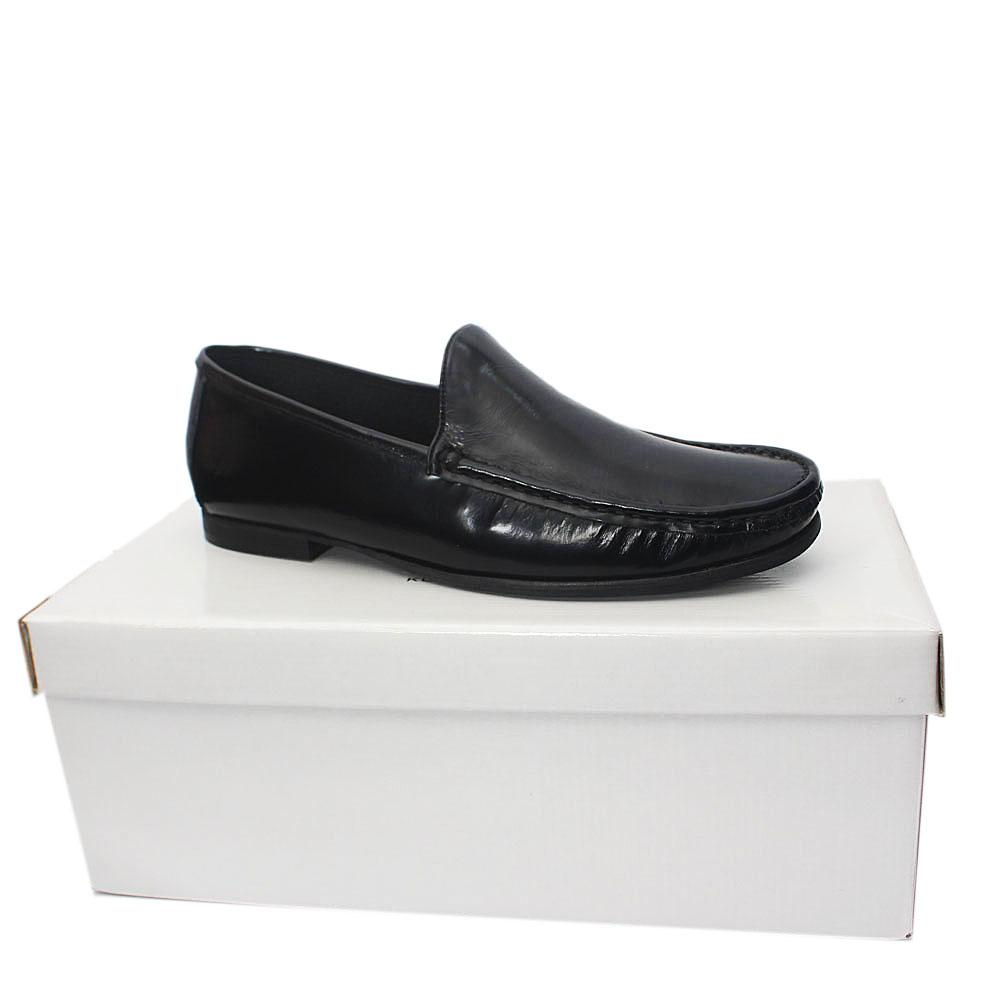 Kurt Geiger Ramsgate Black Leather Men Shoes