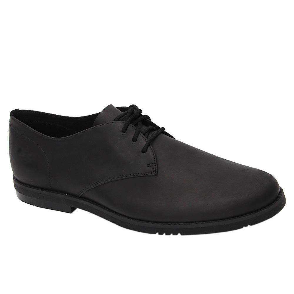 Black Jamie Max Soft Leather Derby Shoe