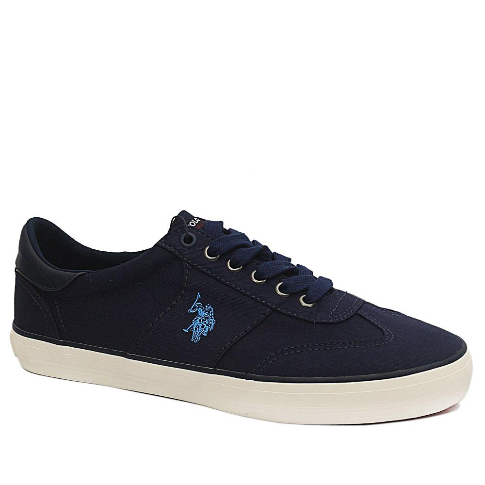 USSPA Navy Ted Fabric Sneakers