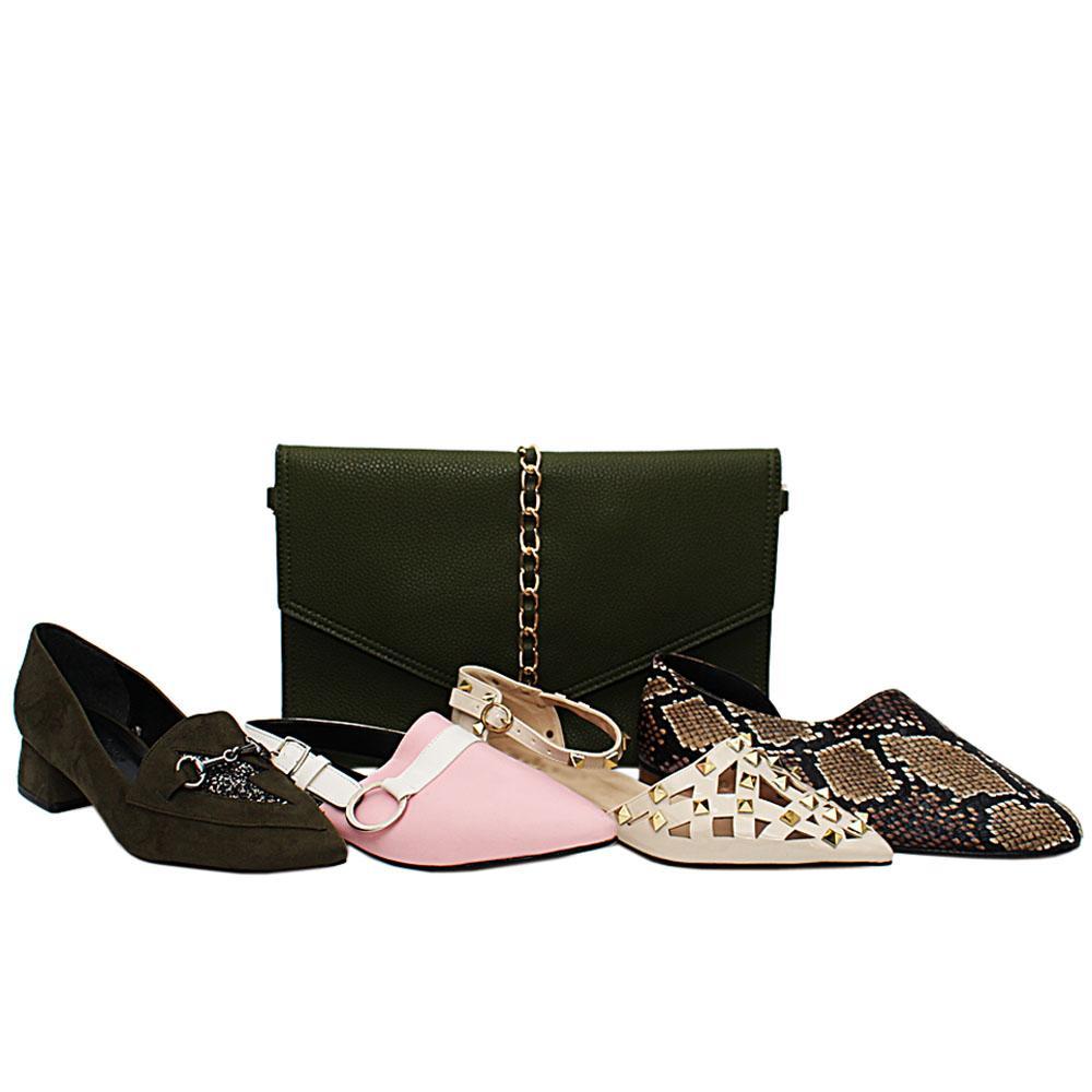 Size 38 Barbara Shoe and Bag Bundle
