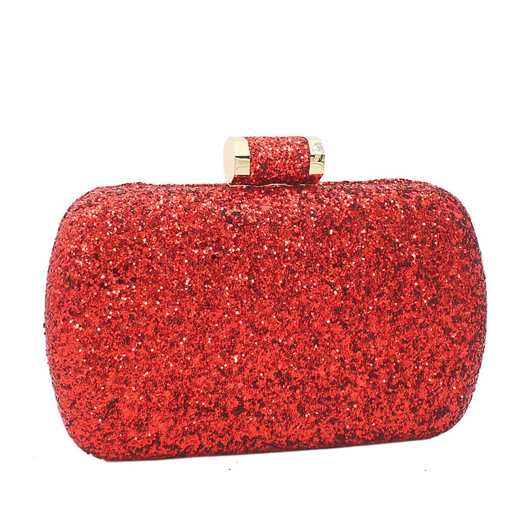 Red Alice Glitz Clutch Purse