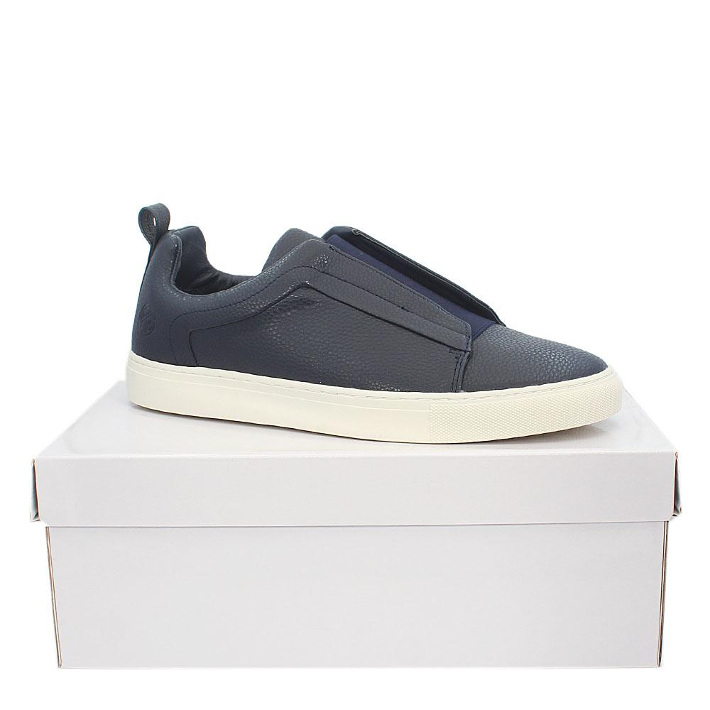 Kurt Geiger Woodstock Navy Leather men Sneakers