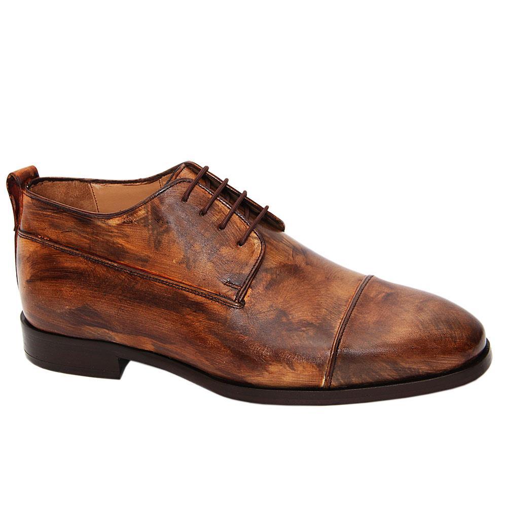 Brown Caesar Augusto Italian Leather Half-Boots