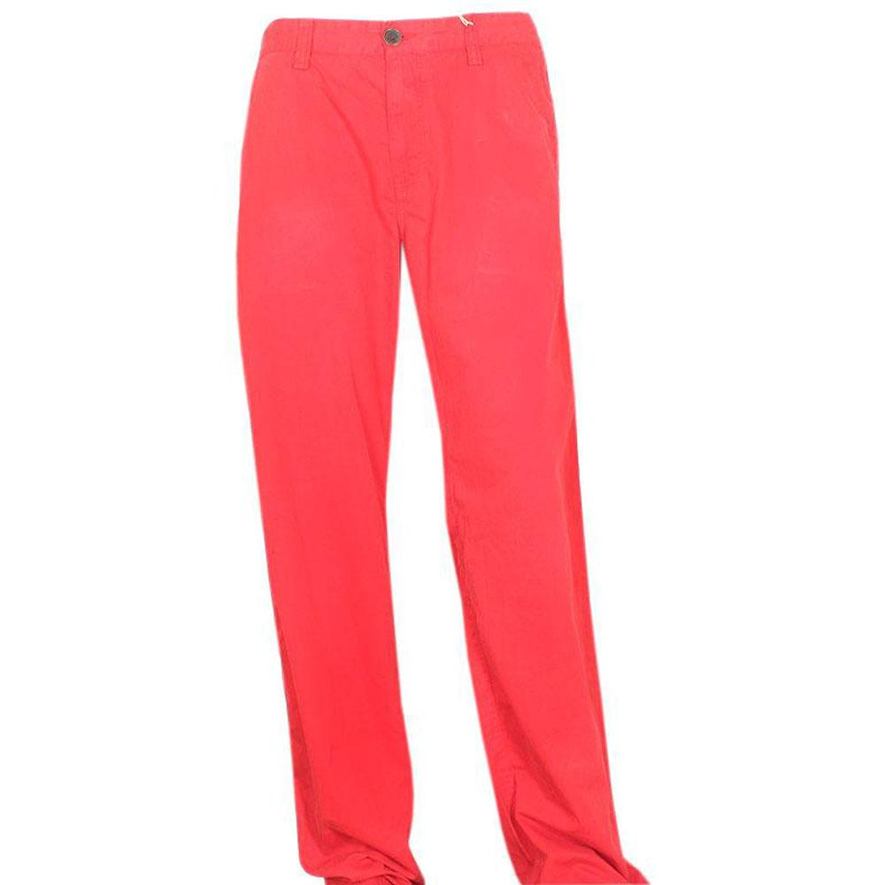 Timberland Brick Red Mens Straight Fit Chinos Trouser-W38, L45.5