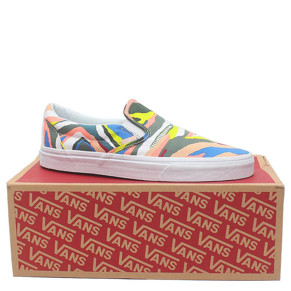 Vans Off The Wall Multicolor Fabric Men Sneakers Sz 43