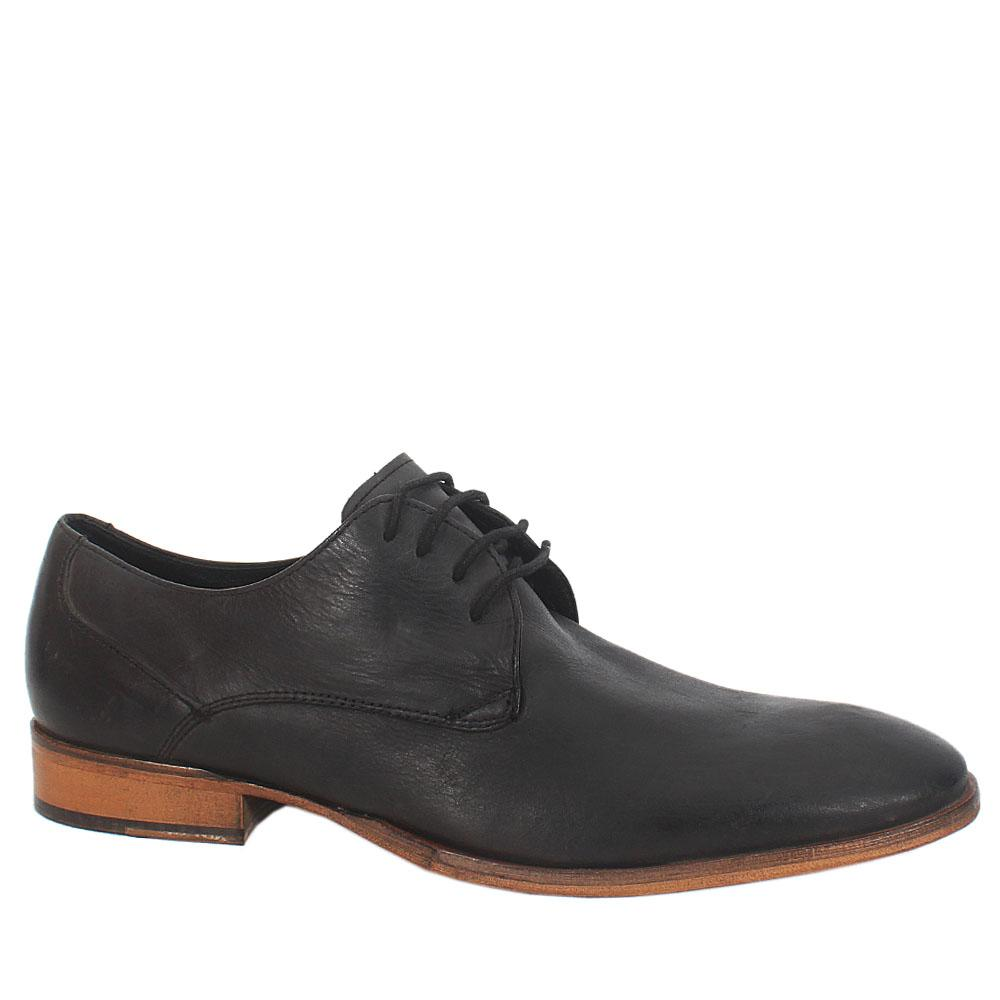 Kurt-Geiger-Rough-Black-Leather-Lace-Mens-Formal-Shoe