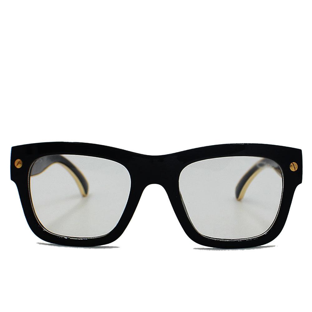 Black Narrow Fit Frame Eyeglasses