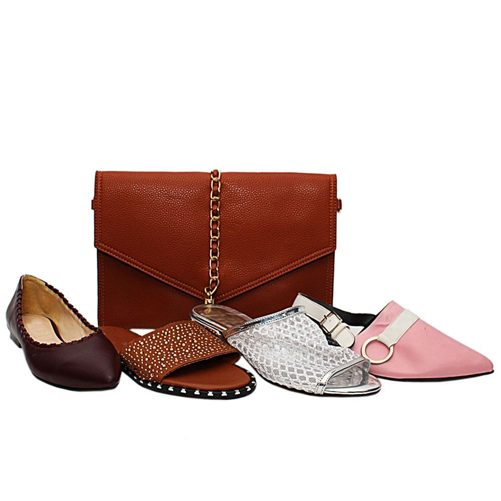 Size 37 Eliana Shoe and Bag Bundle