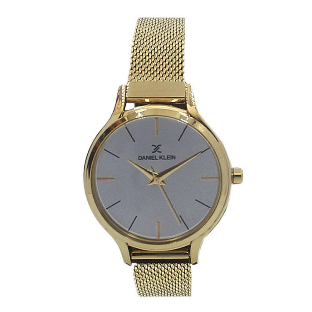 Daniel Klein Gold Stainless Mesh Ladies Watch