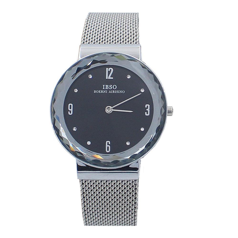 Avallon Rose Silver Stainless Mesh Ladies Watch