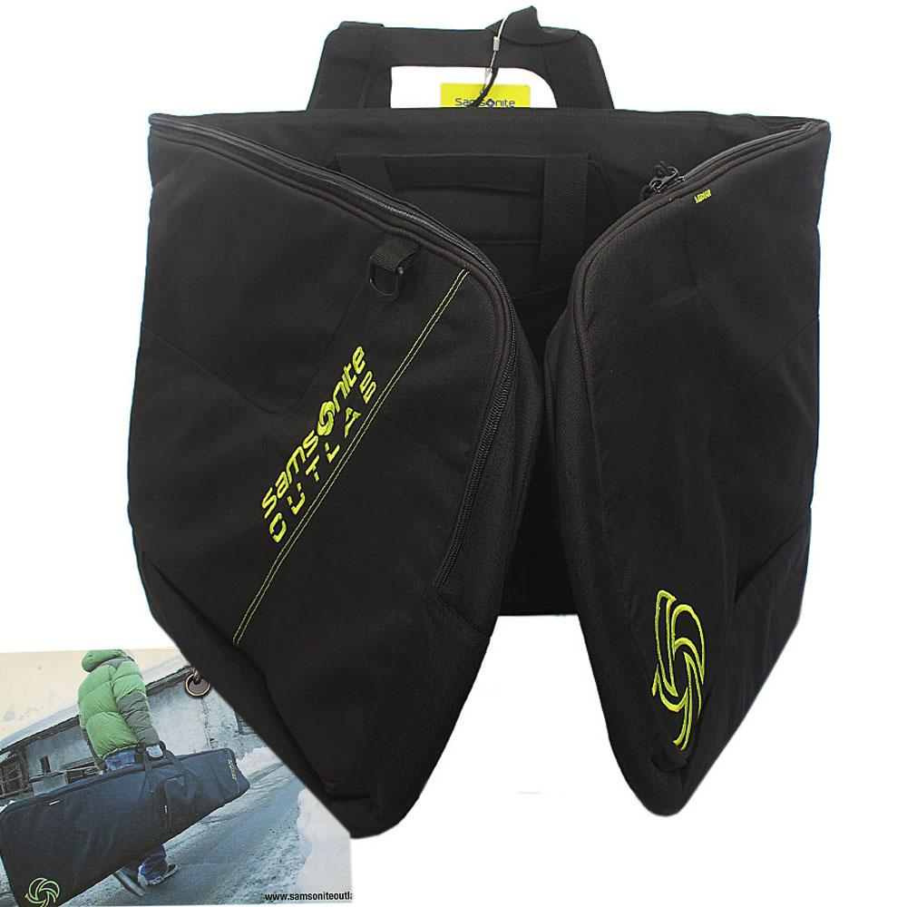 Black Cordura Fabric Snowboard Ski Padded Bag