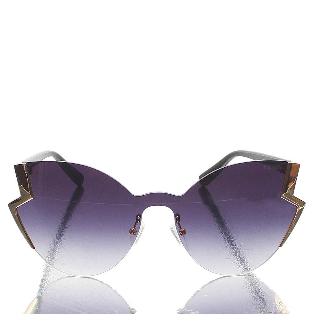 Black Gold Butterfly Sunglasses