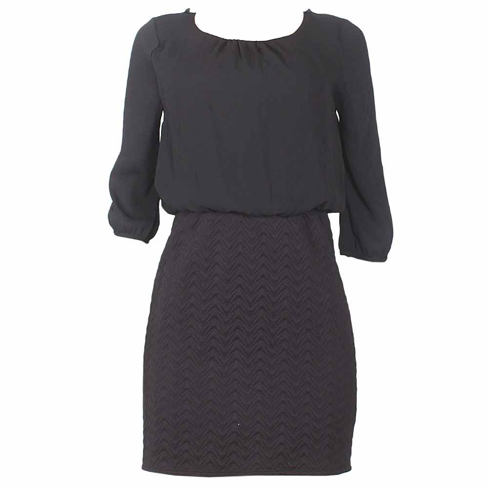 Black LongSleeve Ladies Dress-Uk 10