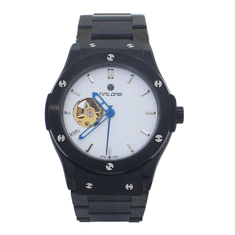 Big Bang Black White Stainless Steel Automatic Watch