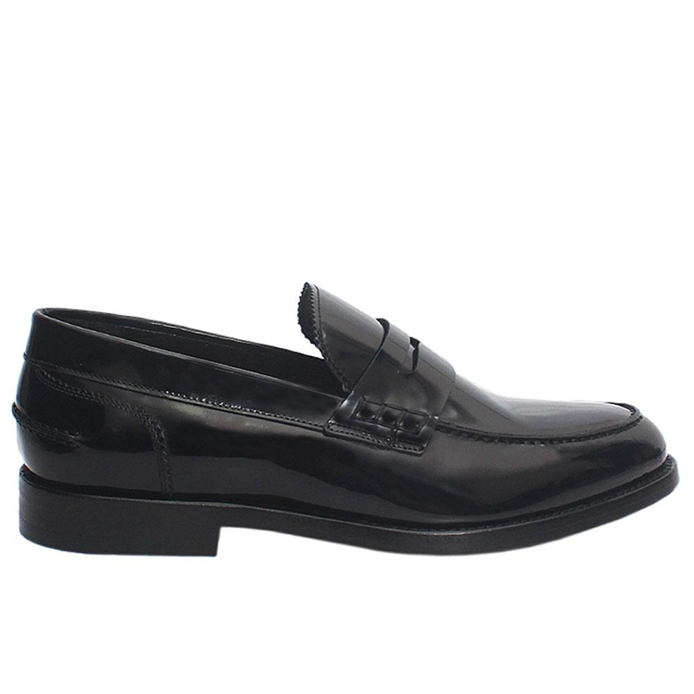 Black SB Patent Italian Leather Loafers