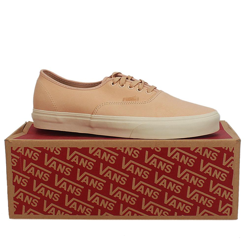 Vans Light Peach Authentic DX Veggie Leather Sneakers