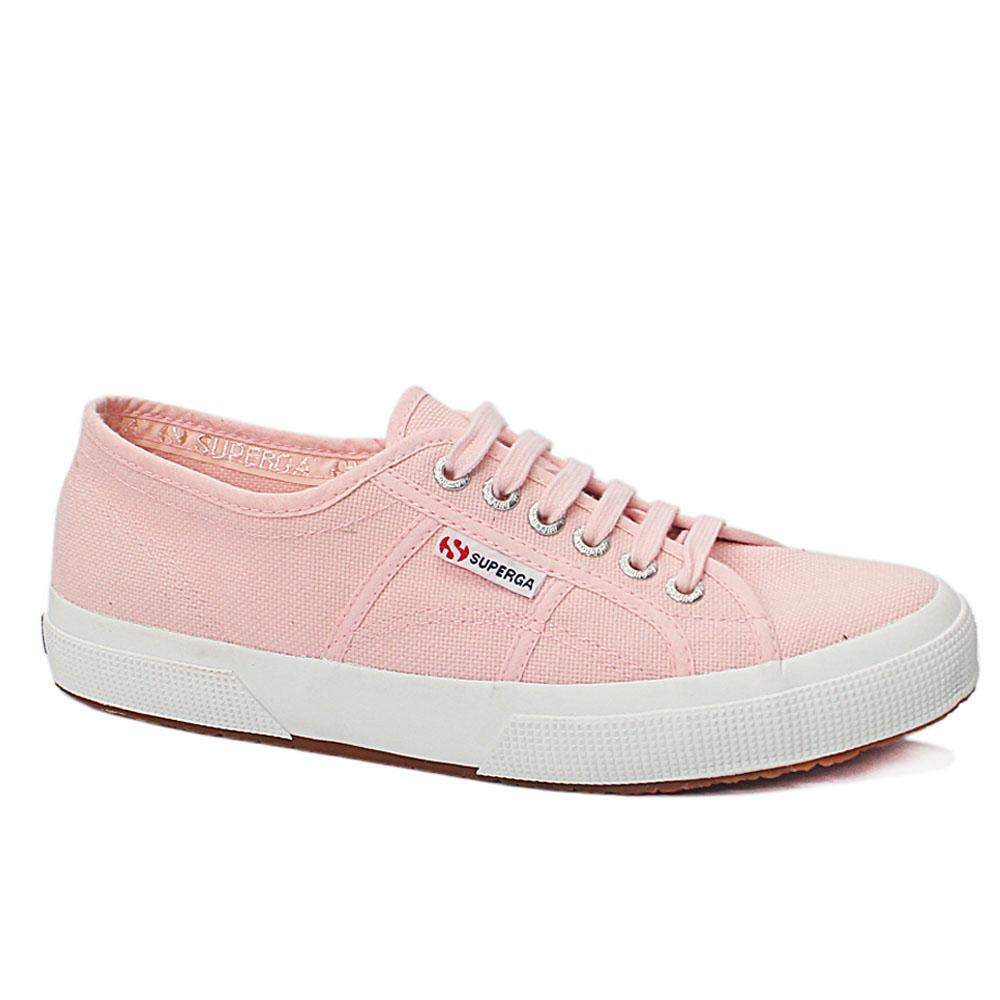 Pink Scarlett Fabric Ladies Sneakers