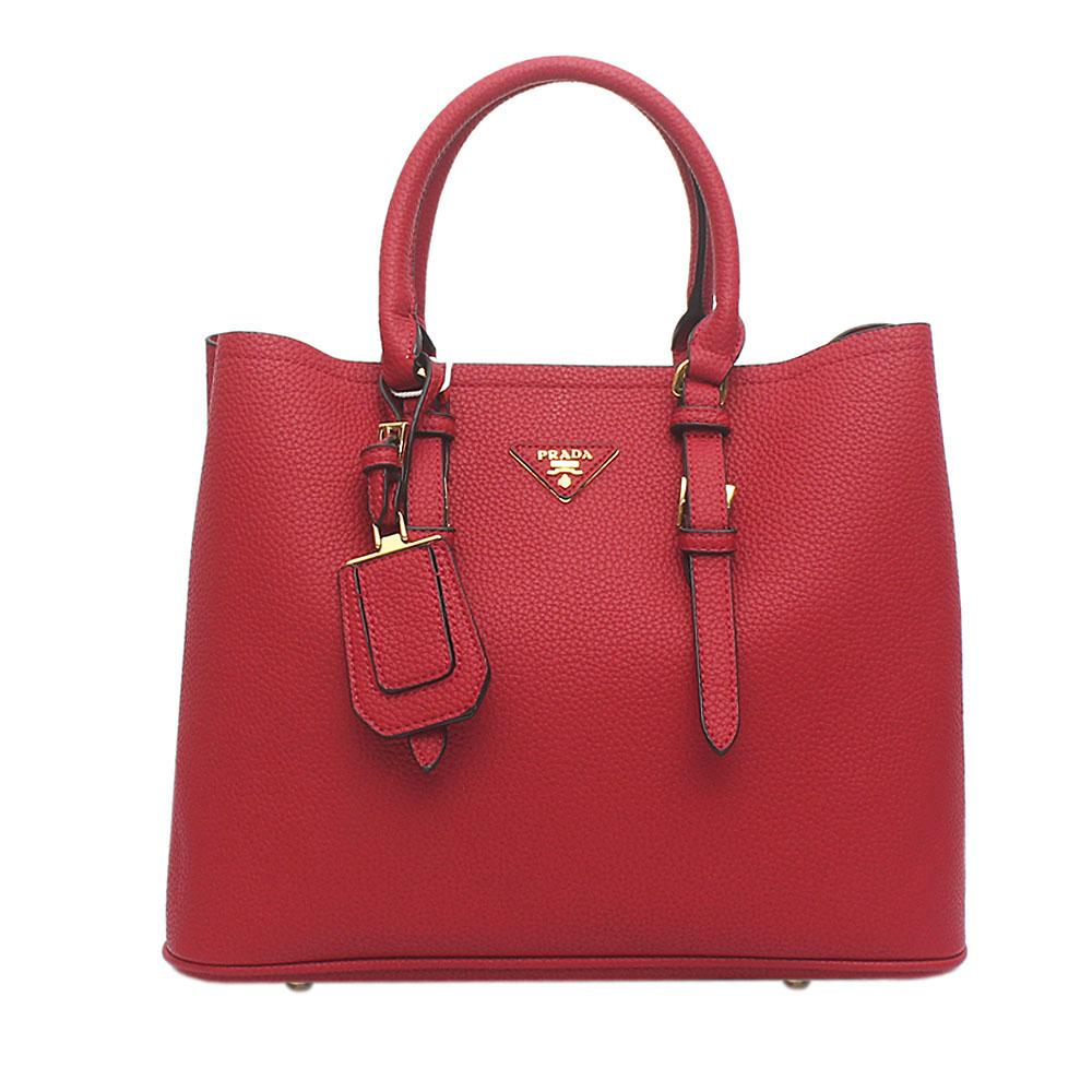 3db3483d8a Buy Prada-Red-Leather-Double-Bag - The Bag Shop Nigeria