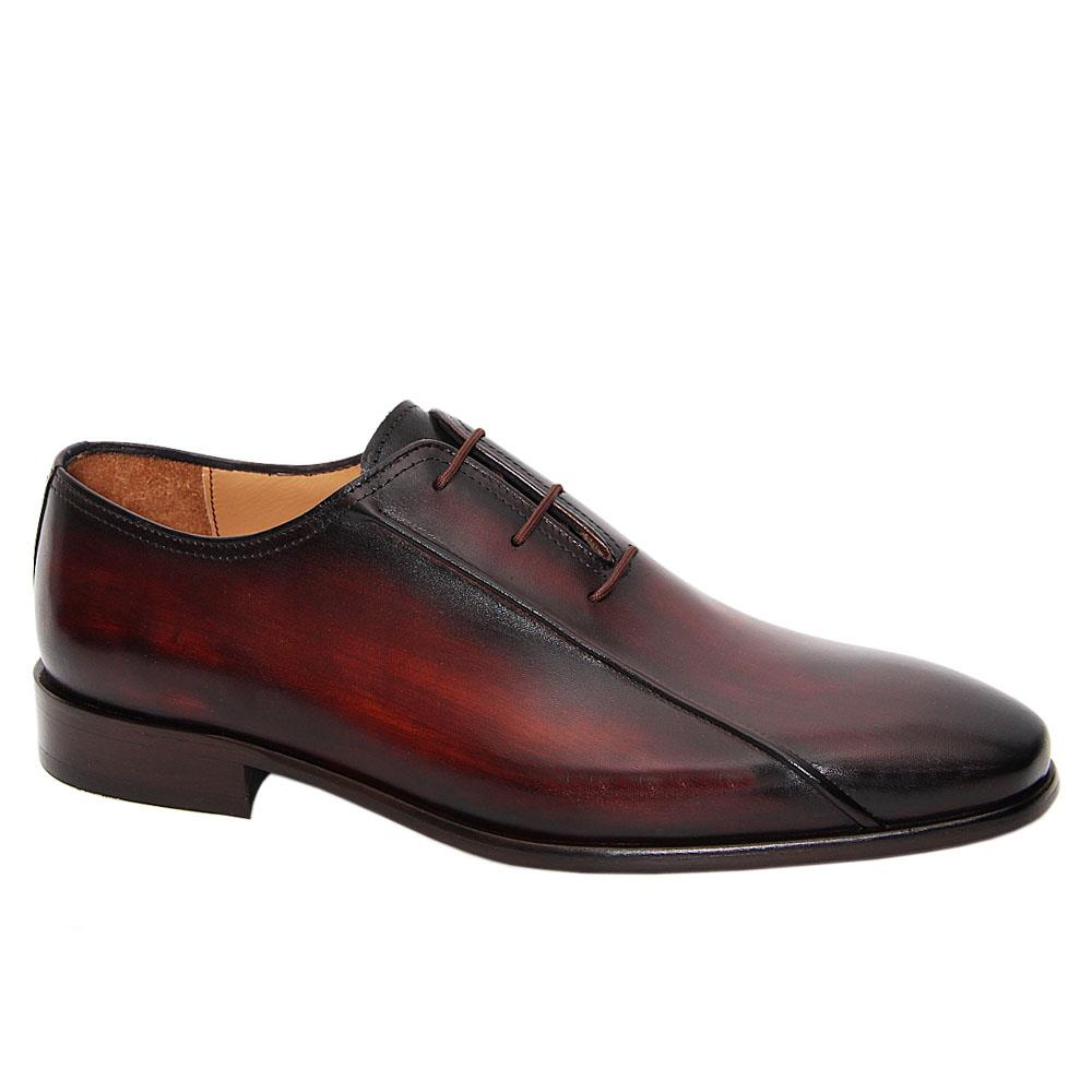 Brown Ambogrio Italian Leather Oxford Shoe