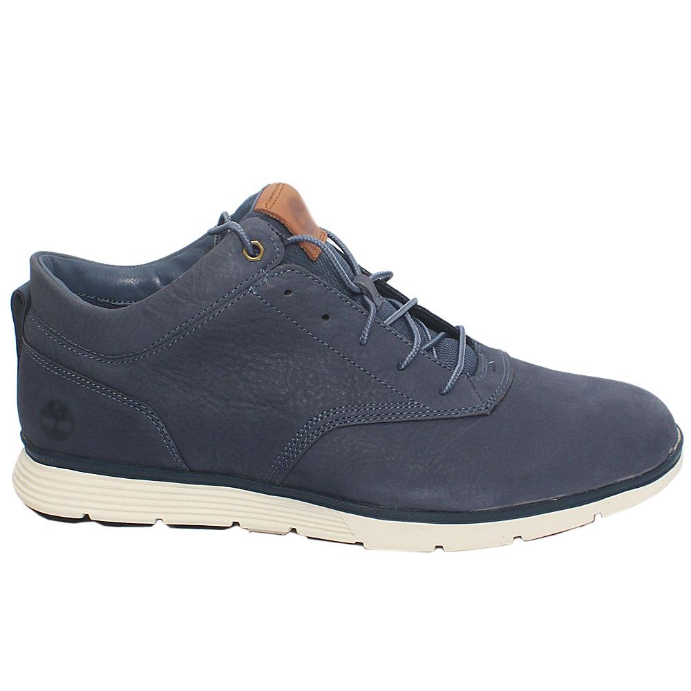 Navy Killington Leather Sneakers