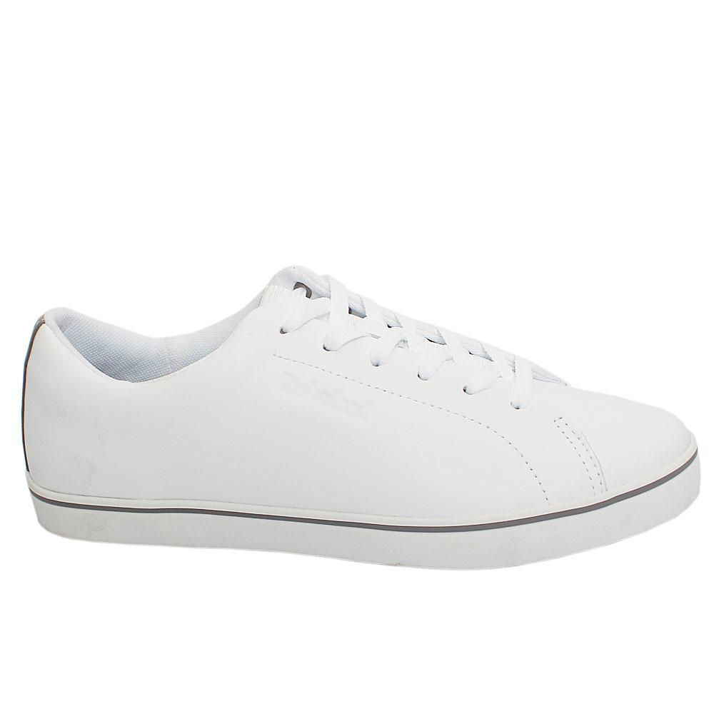 White Skape Park Full Grain Leather Sneakers