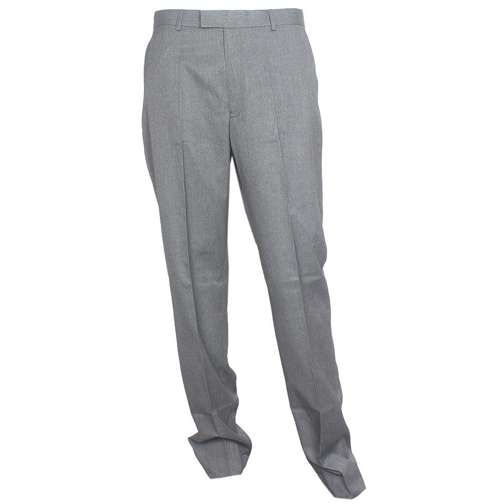 M & S Dark Gray Cotton Regular Fit Men Trouser
