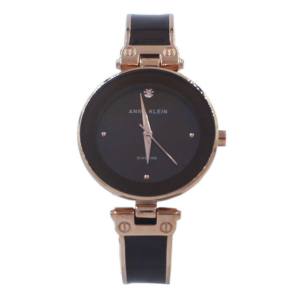 Anne Klein Rose Gold Brown Fashion Ladies Watch